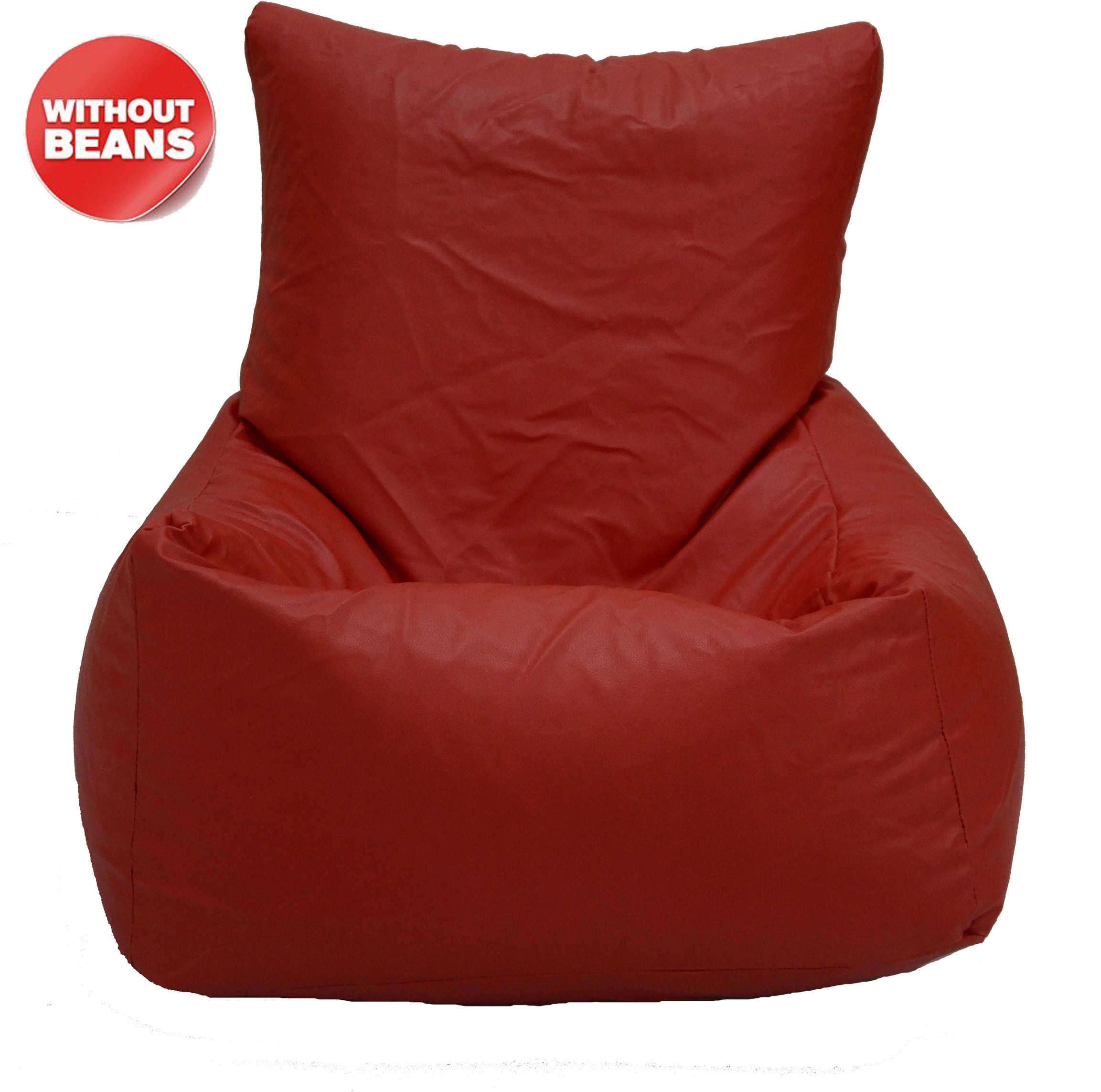 View meSleep XXL Bean Chair Cover(Red) Furniture (meSleep)