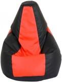 stylx XXL Teardrop Bean Bag Cover (Red, ...