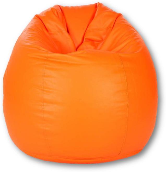 View Sudesh Handloom Large Bean Bag Cover(Orange) Furniture (Sudesh Handloom)