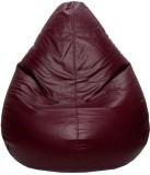 PSYGN XL Teardrop Bean Bag Cover (Brown)
