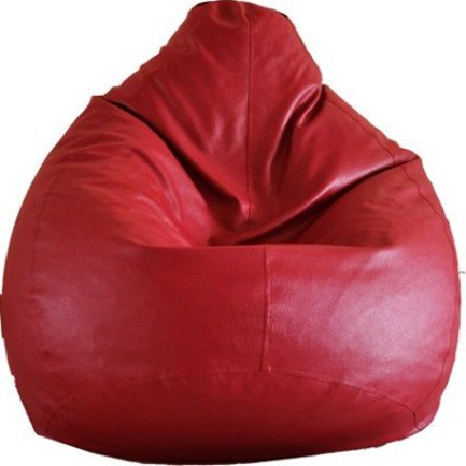 View IMUSI XL Bean Bag  With Bean Filling(Red) Furniture (IMUSI)