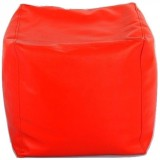 stylx XXL Bean Cube Cover (Red)