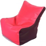 stylx XXL Bean Chair Cover (Pink, Brown)