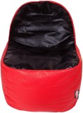 Olybo XXL Bean Chair Cover (Red, Black)