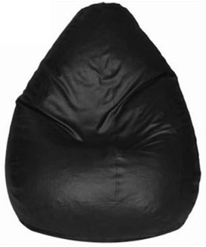 View Plush Products XXL Bean Bag Cover(Black) Furniture (Plush Products)