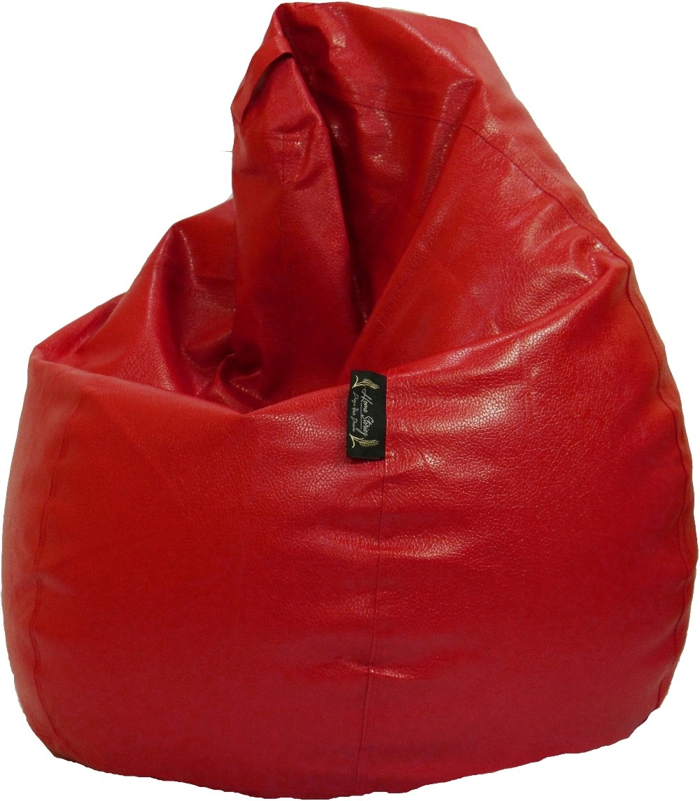 View Home Storiez XL Bean Bag Cover(Red) Furniture (Home Storiez)