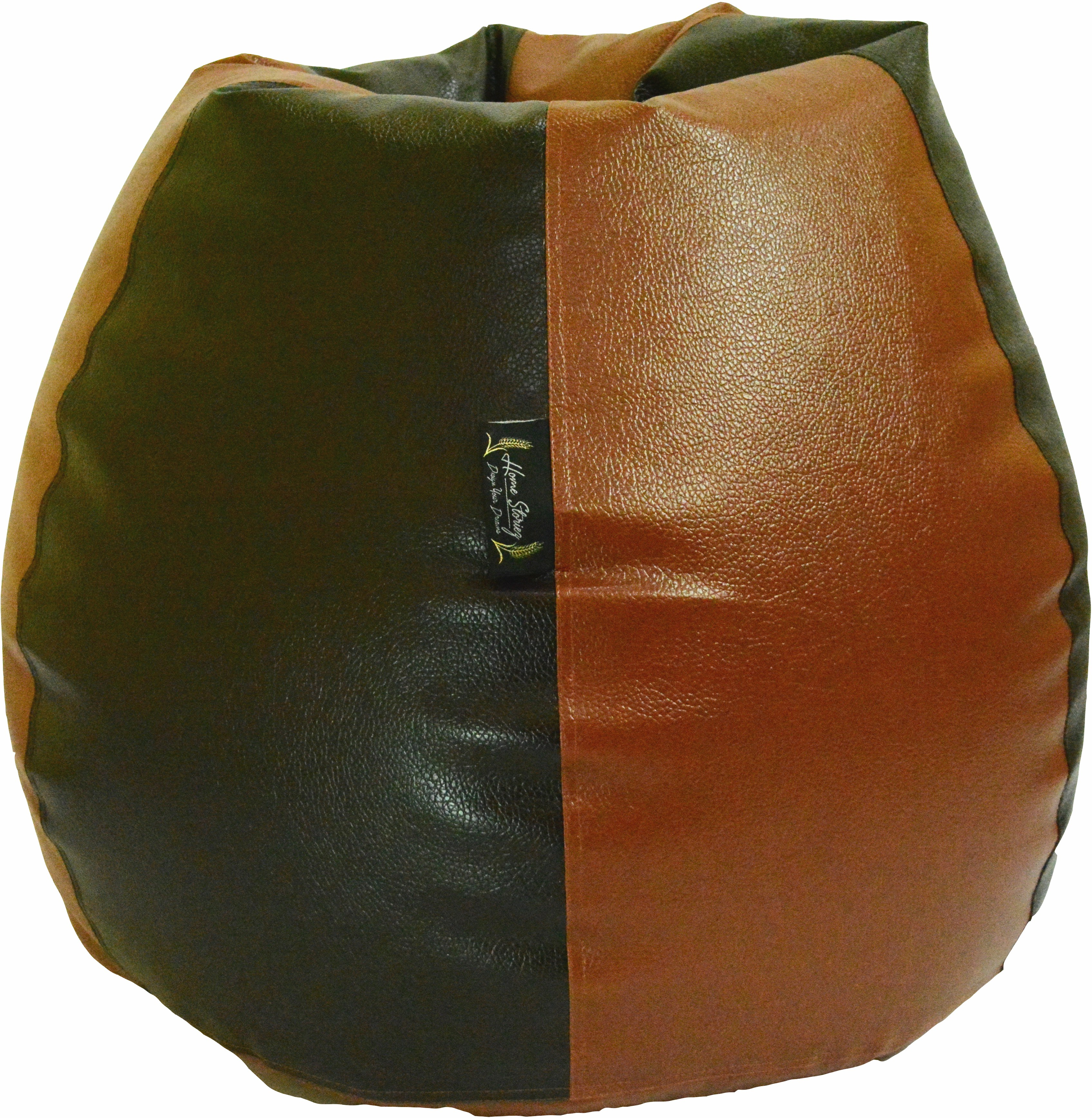 View Home Storiez XL Bean Bag Cover(Brown, Brown) Furniture (Home Storiez)