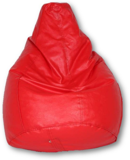 View Sudesh Handloom Large Bean Bag Cover(Red) Furniture (Sudesh Handloom)