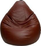 PSYGN Large Teardrop Bean Bag Cover (Bro...