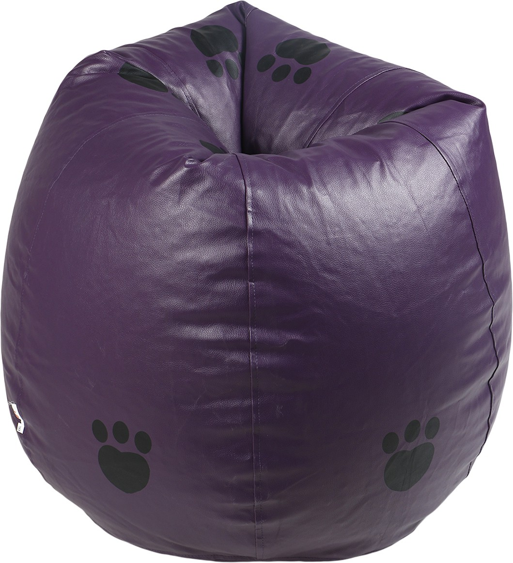 View Rehal XXXL Bean Bag Cover(Purple, Black) Furniture (Rehal)