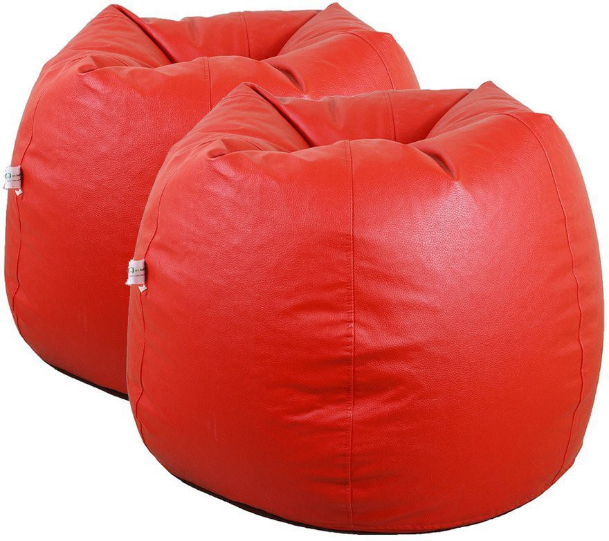 View Furniture Land XXL Bean Bag Cover(Red) Furniture (Furniture Land)