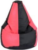 stylx XXL Teardrop Bean Bag Cover (Black...
