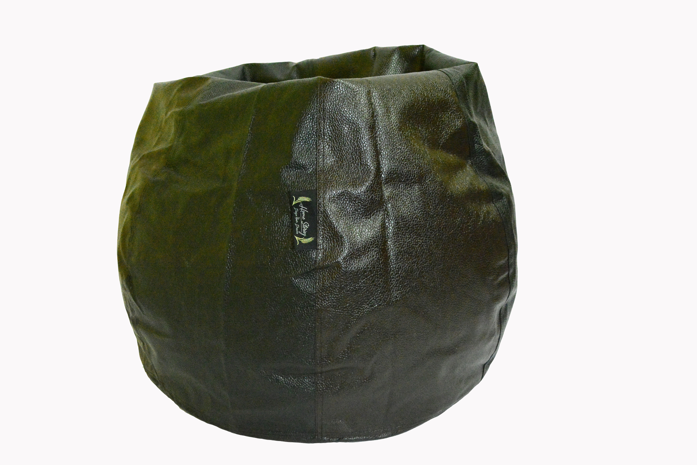 View Home Storiez XL Bean Bag Cover(Brown, Black) Furniture (Home Storiez)