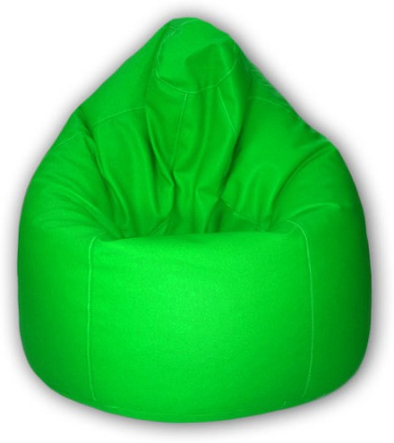 View MEHDI XXL Bean Bag  With Bean Filling(Green) Price Online(MEHDI)