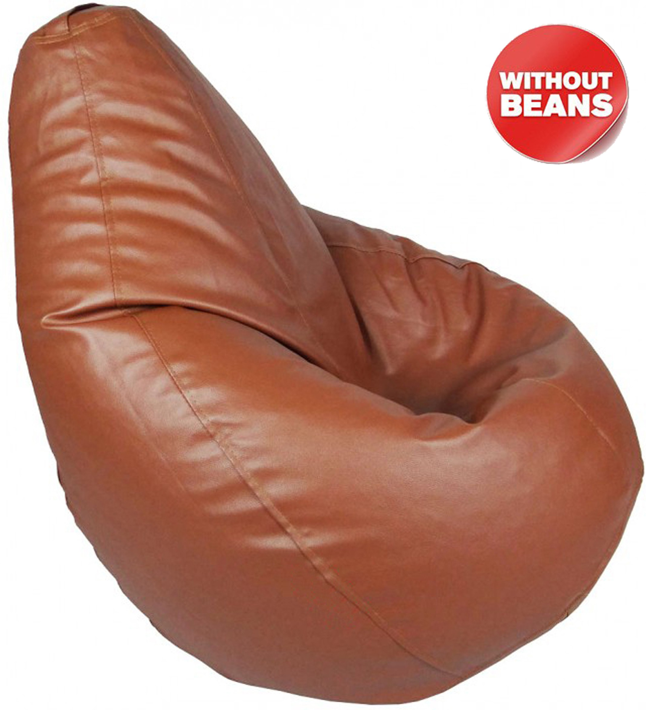 View meSleep XXXL Bean Bag Cover(Tan) Furniture (meSleep)