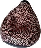 TJAR XXL Bean Bag Cover (Multicolor)