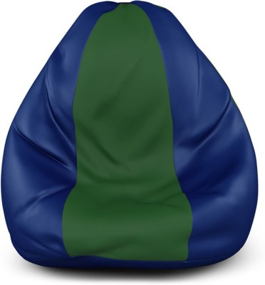 Blue Sand XL Bean Bag Cover(Multicolor)
