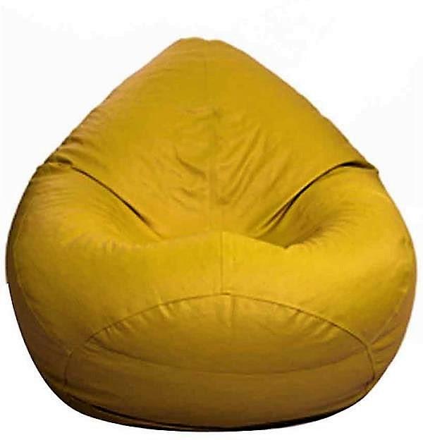 View Aoctane XXL Bean Bag Cover(Yellow) Furniture (Aoctane)