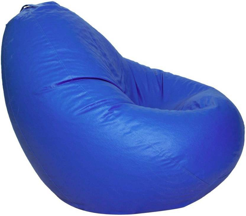 View Repose XXXL Bean Bag Cover(Blue) Furniture (Repose)