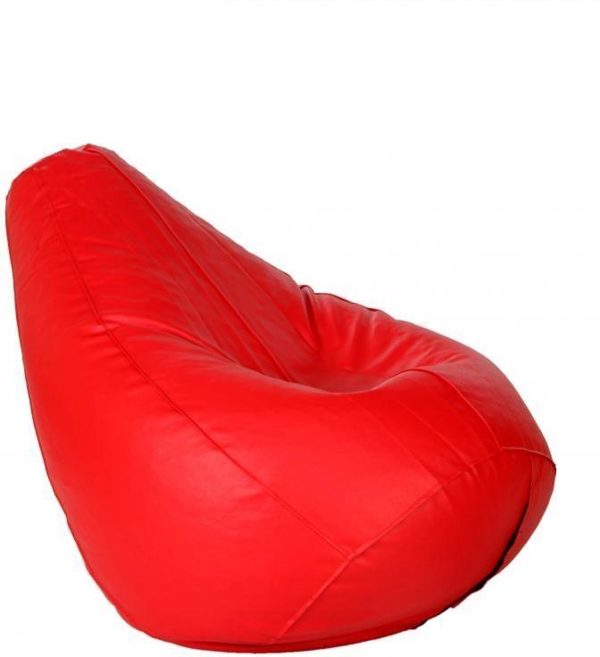 View Bear Teddy XL Bean Bag Cover(Red) Furniture (Bear Teddy)