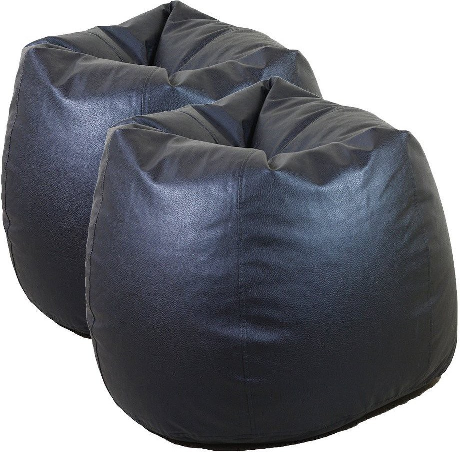 View Furniture Land XL Bean Bag Cover(Black) Furniture (Furniture Land)