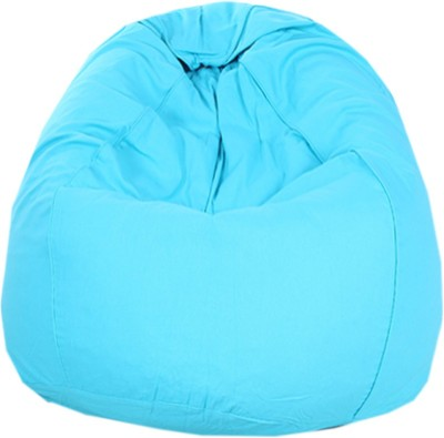 REME XL Lounger Bean Bag Cover(Blue)