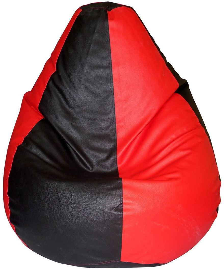 View Comfort XL Bean Bag  With Bean Filling(Multicolor) Furniture (Comfort)
