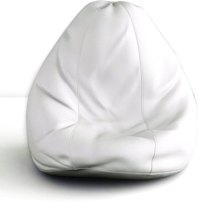 View Splendid XXXL Bean Bag Cover(White) Furniture (Splendid)