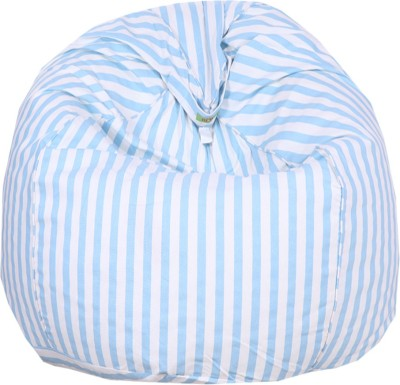 REME XL Lounger Bean Bag Cover(Multicolor)