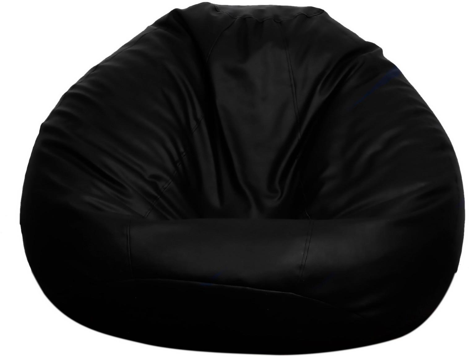 View Opulence Lounger XXXL VW17 Bean Bag  With Bean Filling(Black) Furniture (Opulence Lounger)