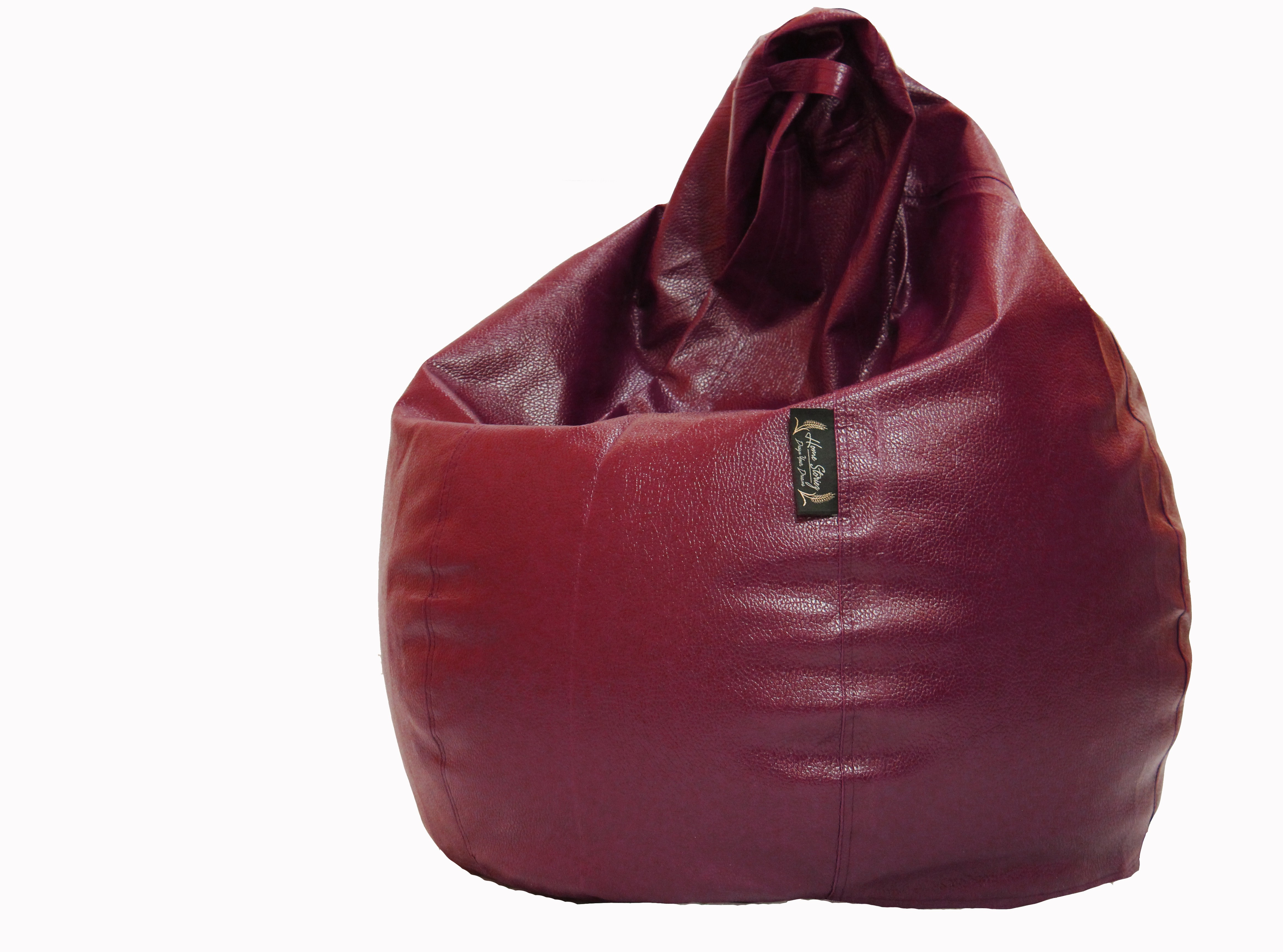 View Home Storiez XL Bean Bag Cover(Maroon) Furniture (Home Storiez)