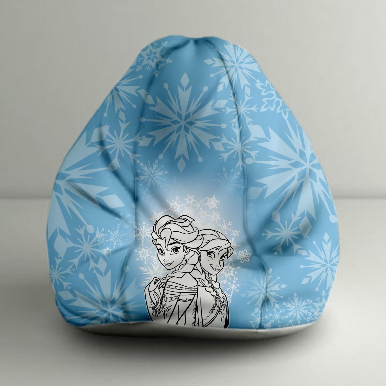 View Disney XXXL Bean Bag Cover(Blue, White) Furniture (Disney)