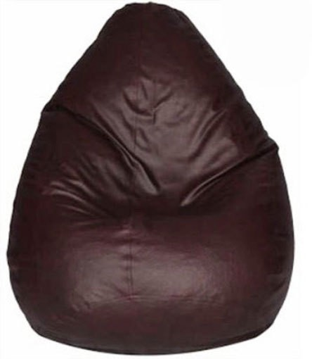 View Plush Products XXL Bean Bag Cover(Brown) Furniture (Plush Products)
