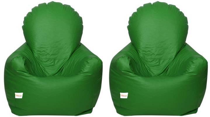 View Star XXXL Bean Chair Cover(Green) Furniture (Star)