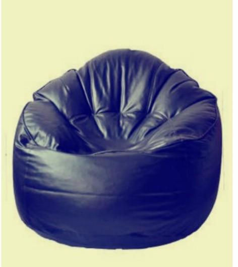 View Fab Homez Medium Bean Chair Cover(Blue) Furniture (Fab Homez)