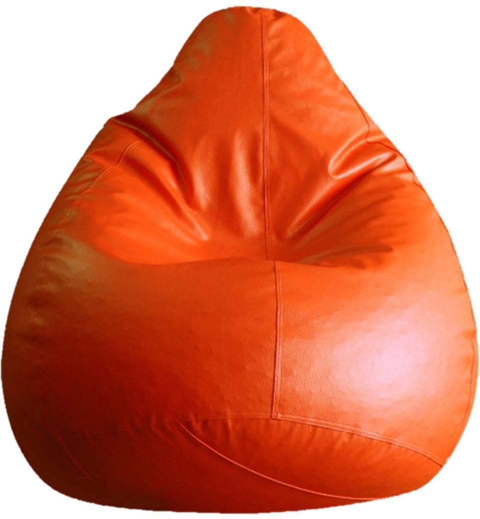 View SK BEANBAGS XXL Teardrop Bean Bag Cover(Orange) Furniture (SK BEANBAGS)