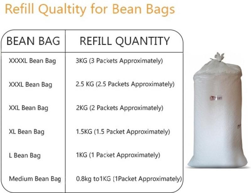Brownexo Bean Bag Filler(Standard)