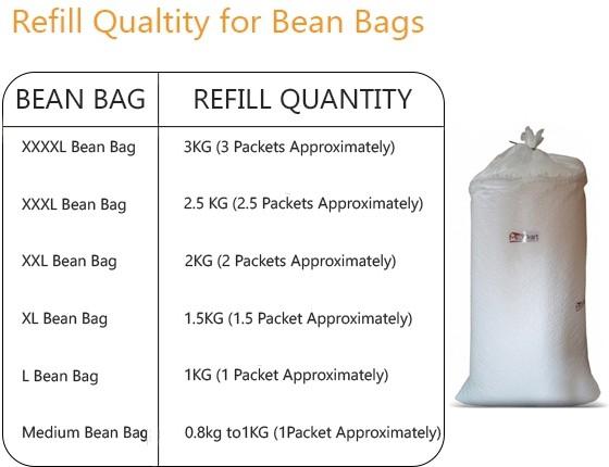 View Brownexo Bean Bag Filler(Standard) Furniture (Brownexo)