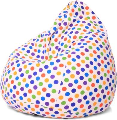 Style Homez XL Bean Bag Cover(Multicolor)