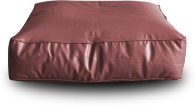Style Homez XL Floor Cushion Bean Bag  With Bean Filling(Maroon)
