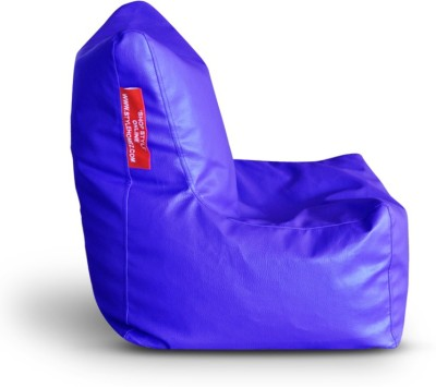 Style Homez Large Chair Bean Bag Chair  With Bean Filling(Blue)