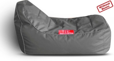 Style Homez Large Lounger Bean Bag Cover(Grey)