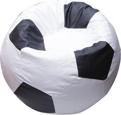 OHS XXXL Foot Ball Bean Bag Bean Bag  With Bean Filling