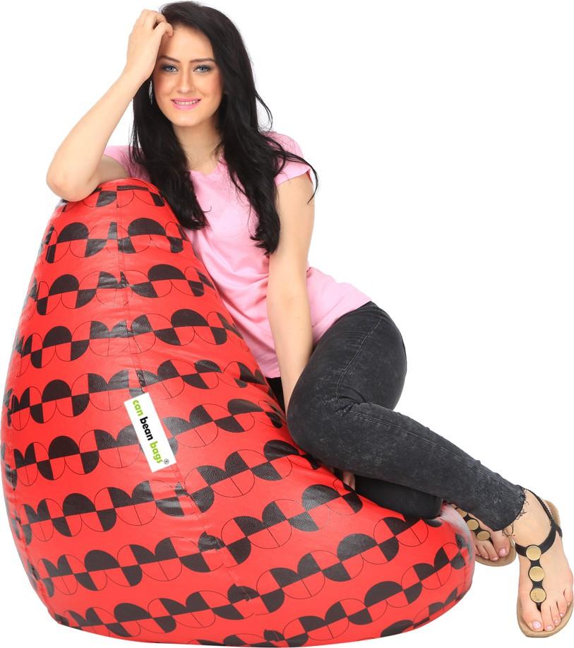 View Can Bean Bag XXL Bean Bag Cover(Multicolor) Furniture (Can bean bags)