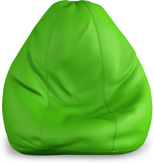 View Beans Bag House Small Bean Bag Cover(Green) Furniture (Beans Bag House)