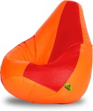 Dolphin Bean Bags XL Dolphin Xl Red&Oran...