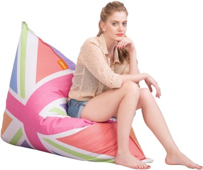 Orka Bean Bags XXL Bean Bag Footstool  Cover (Without Filling)
