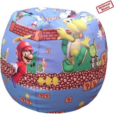 Fun ON XL Mario Teardrop Bean Bag  Cover (Without Filling)