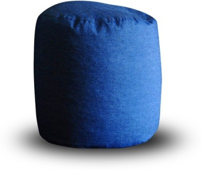 Style Homez Large Ottomans Bean Bag Footstool  With Bean Filling