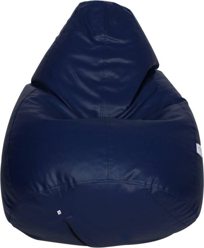 View JJ Design XXXL jjb_02 Bean Bag  With Bean Filling(Blue) Furniture (JJ Design)